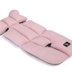 Air pudrowo różowa bawełna/siatka szra